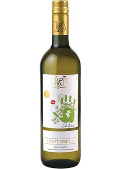 Veneto, Italy- 100% Pinot Grigio that is tank fermented and aged to give it added texture and aromas. The nose recalls acacia flowers and the delicate scent of almonds. Kris Pinot Grigio is clean and refreshing on the palate with hints of linden and honey. Dry, crisp finish. Sweet White Wine, Dry White Wine, White Wine Grapes, Wine Varietals, Edible Creations, Pinot Gris, Wine Guide, Types Of Wine, Sauvignon Blanc