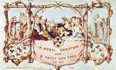 12/09/ 2012: Christmas Card Day. Sir Henry Cole hired painter and illustrator John Calcott Horsley to create a seasonal greeting to send to his friends and family. The lithograph edition of 1,000 depicted a scene of a merry family drinking at the dinner table. Only 20 of the original postcards were thought to have survived and the original proof was auctioned in 2005 for 16,000 according to USA Today. It's considered the world's first known Christmas card.
