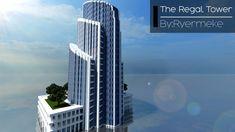 Regal Tower (Skyscraper 15) Minecraft Project