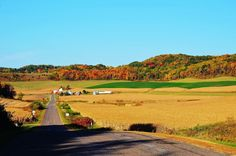 Country Roads by Melvin Magnuson on Capture Wisconsin // Farm country on County Road J near Urne, WI