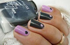 Black & Purple dots