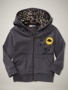 I Am Momma - Hear Me Roar: Batman Sweatshirt (Gap Knock-Off)Great site for boy clothes makeovers and embellishments