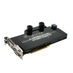 EVGA GeForce GTX 680 Hydro Copper, 2048 MB DDR5, PCIe 3.0, DP