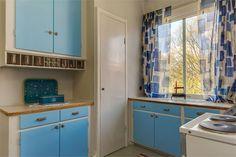 1944, kitchen, Sweden.