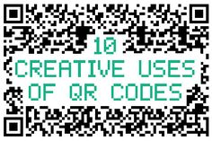10 Creative Uses of QR Codes - Awwwards