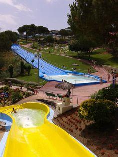 #RiuSalvatge #WaterPistes #WaterWorldParc #WaterPark #CostaBrava Golf Courses, Sports, Hs Sports, Sport