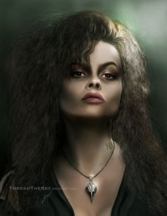 Harry Potter: Bellatrix Lestrange by ThreshTheSky.deviantart.com on @deviantART