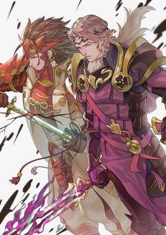 Xander and Ryoma