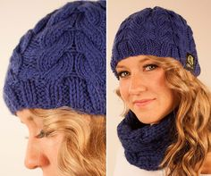 SALE - KNITTING PATTERN - Raindrop Cable Winter Beanie - Handmade Gifter's Christmas Sale!  by ShopCheni, $2.95