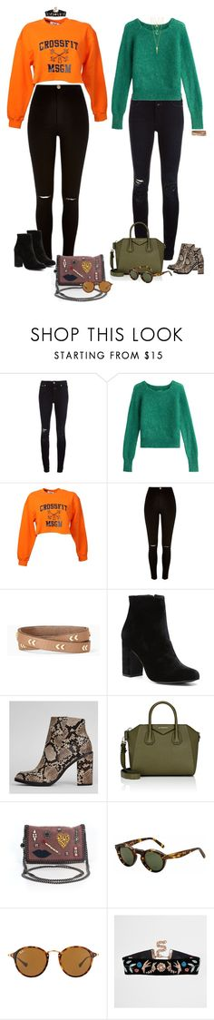 """""""Be better person"""" by audrey-balt on Polyvore featuring Closed, Zadig & Voltaire, MSGM, River Island, Stella & Dot, Witchery, New Look, Givenchy, STELLA McCARTNEY and Ray-Ban"""