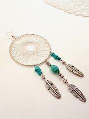 Dreamcatcher necklace - Perles Corner