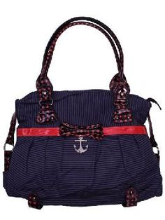 Iron Fist Sinking Ships Anchor Nautical Vegan Handbag Purse