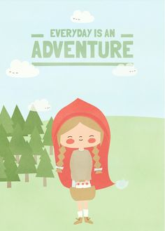 Little Red Riding Hood by Apanona