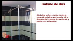 Cabine de dus Herra Piatra Neamt Curtains, Youtube, Design, Home Decor, Cabin, Blinds, Decoration Home, Room Decor