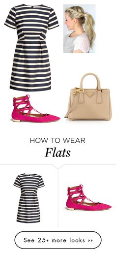 """Untitled #1834"" by aliciabadrick on Polyvore featuring H&M, Aquazzura and Prada"