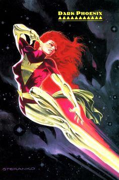 Dark Phoenix by Jim Steranko