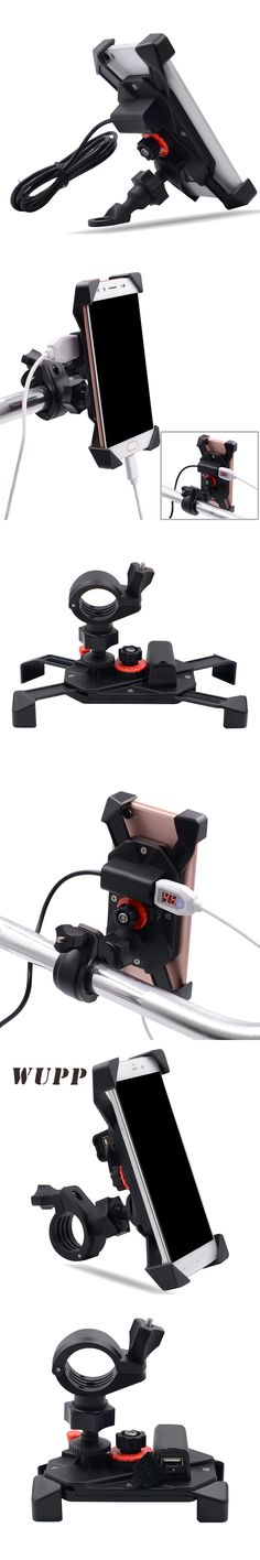 DC12V 2A Rechargeable Mobile Phone Holder Suitable For Mobile Phones Tablets GPS And Navigation Adjustable Size 3.5-6 Inch Phone