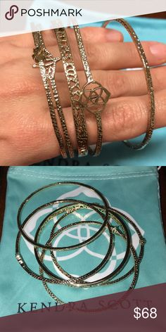 3235c9aed Kendra Scott Jordana cuff set Excellent condition Gold Jordana cuff set Kendra  Scott Jewelry Bracelets Kendra