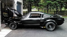 We love Muscle cars. Everything you need to know about Muscle cars. - For Daily Car News, Readers Rides, Daily best Muscle car buys. Custom Muscle Cars, Best Muscle Cars, American Muscle Cars, Custom Cars, 1966 Ford Mustang, Mustang Fastback, Mustang Cars, Ford Mustangs, Sexy Cars