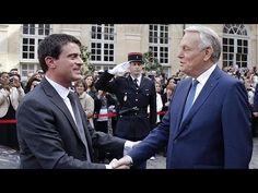 Politique France France : passation de pouvoir entre Valls et Ayrault - http://pouvoirpolitique.com/france-passation-de-pouvoir-entre-valls-et-ayrault/