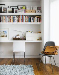 escritorios hogar espacios de trabajo espacios de oficina espacios pequeos rincn de la oficina construido en el escritorio muebles empotrados
