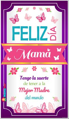 Creative Crafts, Diy Crafts, Birthday Cards, Happy Birthday, I Love Mom, Happy Mother S Day, Mom Day, Love Messages, Mom Quotes