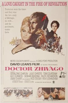 Doctor Zhivago movie poster designed by Howard Terpning