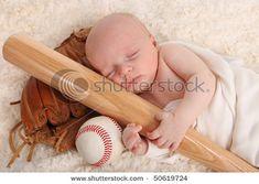 Baby baseball photo