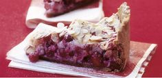 Take a look at this recipe (Cranberry almond meringue tart)