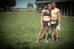 Môj prvý triatlon preteky s mojou najväčšou inšpiráciou, lásky a najlepšieho priateľa, ktorý ma robí šťastnou a silnú.