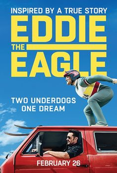 Eddie the Eagle | Coming to theaters on Feb 26th, 2016 // Movies I want to see // #EddieTheEagle #ad
