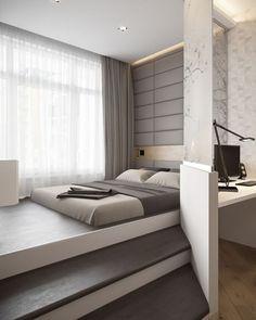 Bedroom designed by Igor Glushan