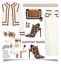 """""""My Mood Today"""" by lidia-solymosi ❤ liked on Polyvore featuring Ganni, Altuzarra, Dolce&Gabbana, Bobbi Brown Cosmetics, NARS Cosmetics and Garance Doré"""