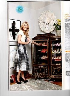 Shoe storage @ O Magazine