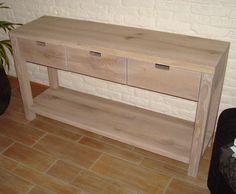 side table steigerhout laden - Google zoeken