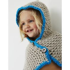 Hooded Cowl...easy to crochet,and there's a free pattern!!