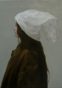 Meditations on a cup of tea Oil on muslin 410mm-x-410mm-2009 by 'shaun4'