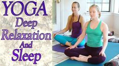 Just did this! Heaven! Beginners Yoga For Deep Relaxation, Sleep, Insomnia, Anxiety & Stress Re...