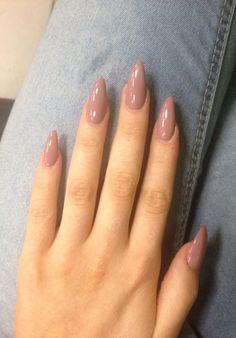 20 Oval shaped long acrylic nail ideas 2018