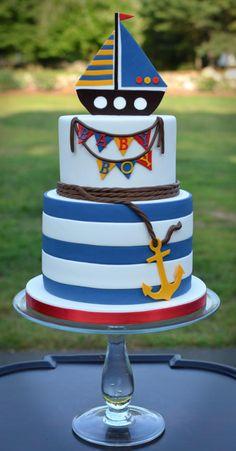Ahoy! It's a boy Cake!