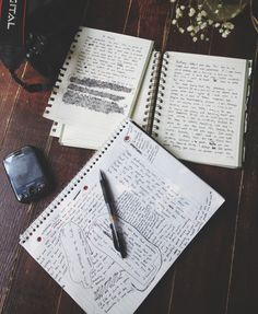 Only a writer would understand the beauty of pen and paper scribbled furiously all over a notebook. Creative Writing, Writing Tips, Writing Prompts, Writing Notebook, Study Hard, Study Break, Study Motivation, College Motivation, Pen And Paper