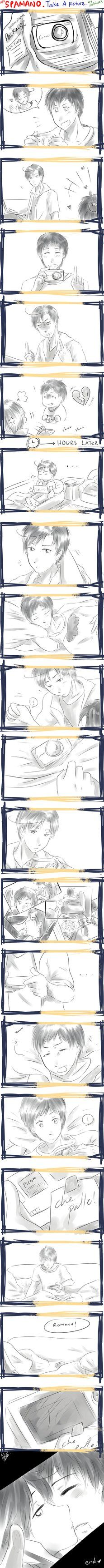 APH -- Spamano -- Lets Take A Picture !! by ~aphin123 on deviantART