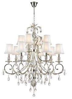 Designer chandelier australia pty ltd french provincial iron aria hampton 12 arm chandelier silver plated designer chandelier aloadofball Images