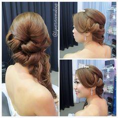 The hairdo, Princess fairytale-esque roll hairstyle ❤