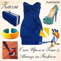 """Disney Style: Zazu"" by trulygirlygirl on Polyvore"