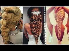 ❀ New Hairstyles - Hairstyles Tutorials Compilation July 2016 ♥ 5 ♡ - YouTube