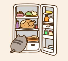 Pusheen The Cat: Things That Cats Apparently Don't Mind Gif Pusheen, Kawaii Pusheen, Pusheen Love, Kawaii Cat, Kawaii Anime, Pusheen Stormy, Penguin Drawing, Simons Cat, Nyan Cat