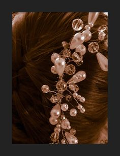 This item is unavailable Hair Comb, Swarovski, My Etsy Shop, Pearl Earrings, Brooch, Pearls, Check, Jewelry, Pearl Studs