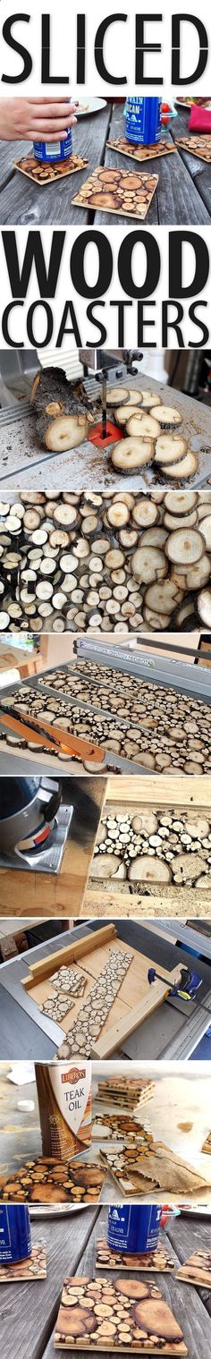 Teds Wood Working - These coasters did have a process to create, but were fairly easy. #woodworking - Get A Lifetime Of Project Ideas & Inspiration!