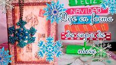 DIY| Haz un copo de nieve | tejido de dije | Feliz navidad | 🎁 🎄 🎅 🎁 🎄 🎅